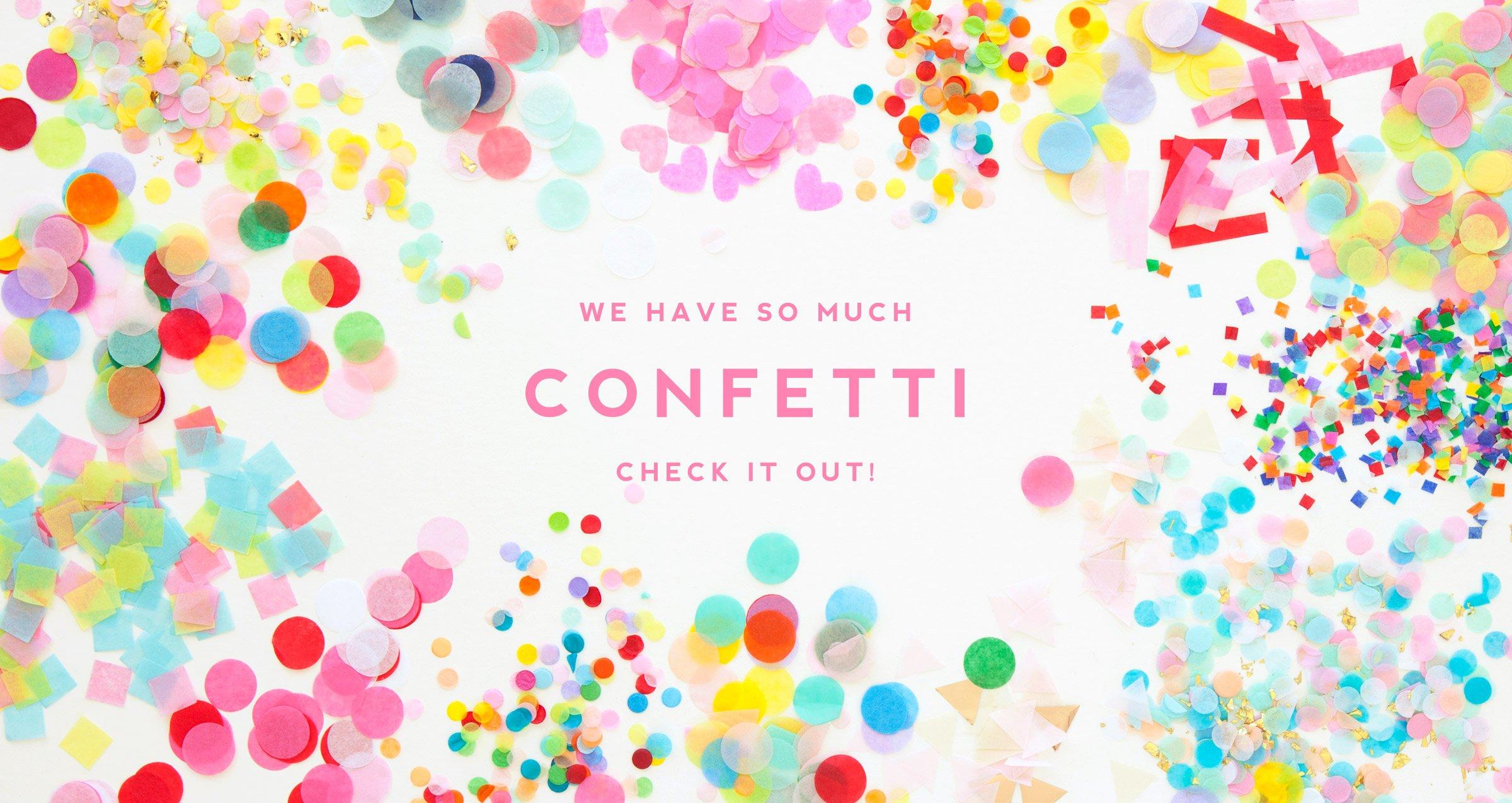 Confetti Home Page